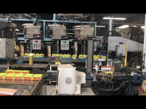 Maze Nails one pound packaging line