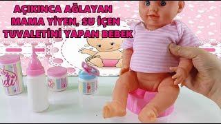 Download TUVALETİNİ YAPAN OYUNCAK BEBEK - Sadem ve Oyuncak Bebek Oyunları Video