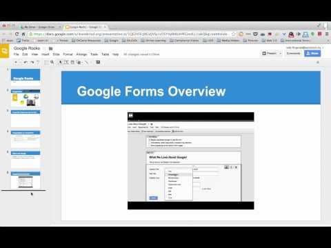 Change the Theme   Google Presentations:Slides