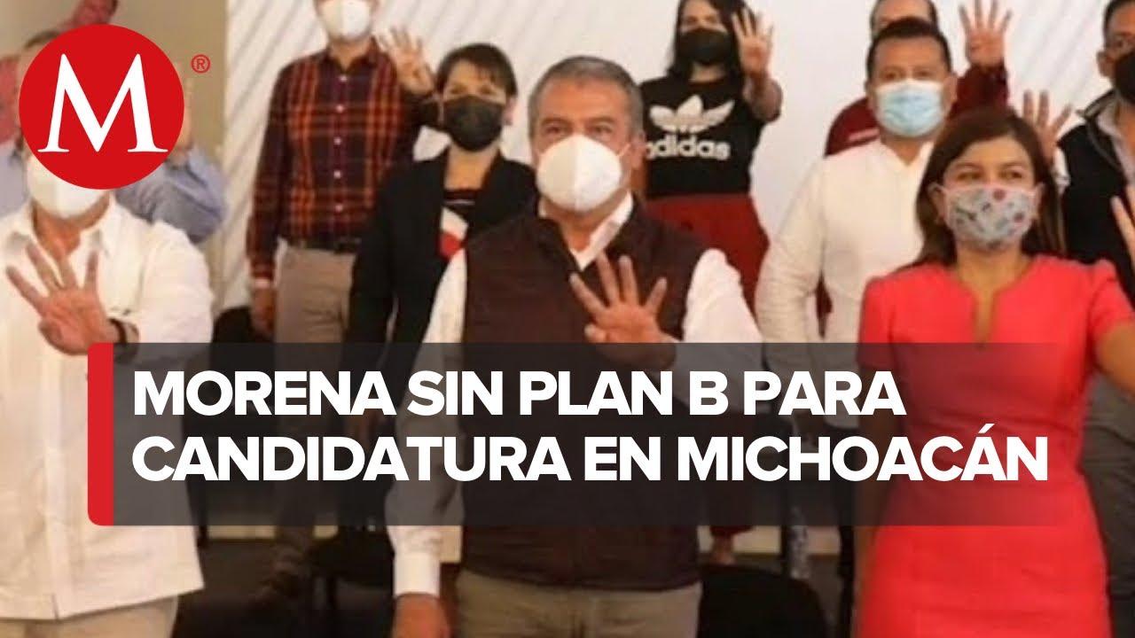 Vence plazo para que Morena registre otro candidato en Michoacán