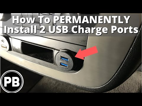 How To Add Two USB Charging Ports In Your Vehicle