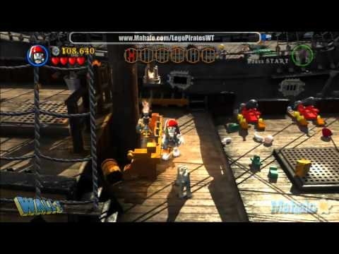 LEGO Pirates of the Caribbean Complete Free Play Walkthrough - Final Complete Pass - Pt 9