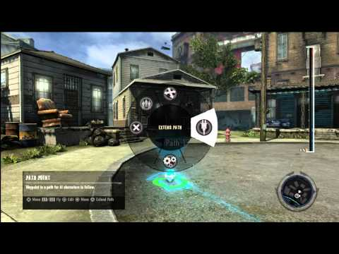 inFAMOUS 2 UGC Tutorial Video 4: NPC's and Paths