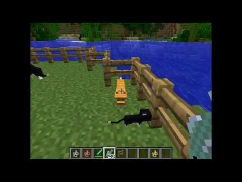 Minecraft snapshot 12w04a - Tamed Ocelots - Katzen Cats + download
