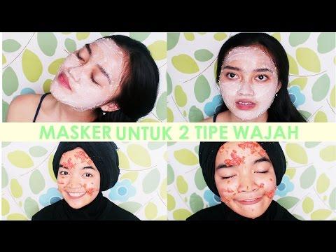 Masker Untuk Kulit Kering & Berminyak