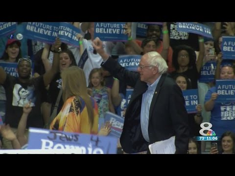 Thousands attend Sen. Sanders' rally in Tampa