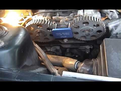 1998 Volvo V70 - timing belt tensioner replacement