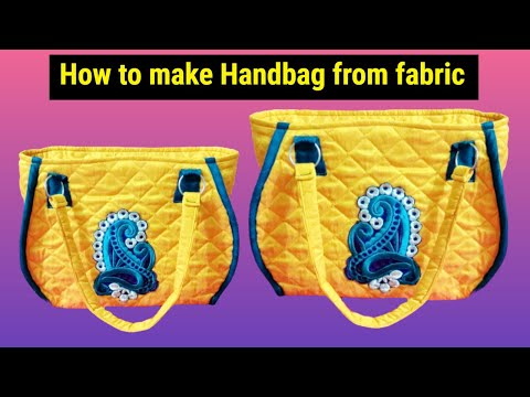 super new handbag make at home diy in Hindi 2018