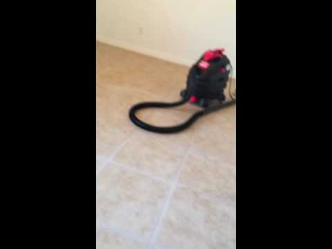 Urine soiled Grout removal