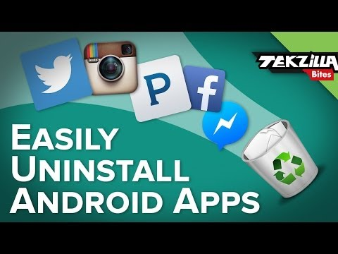 Easily Batch Uninstal Apps in Android