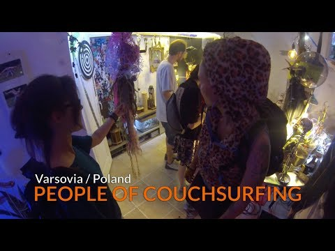 Couchsurfing in Warsaw, Poland | Kevin's Vlog Ep. 8