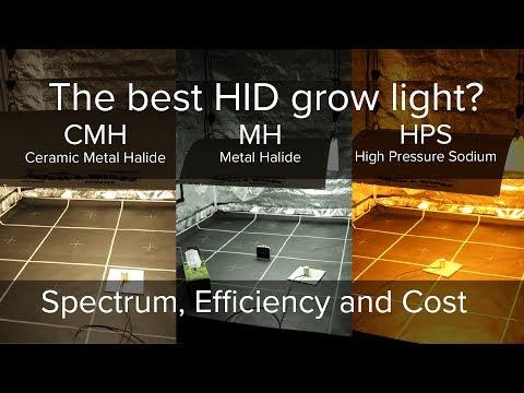 What is the best HID grow light, High Pressure Sodium, Metal Halide or Ceramic Metal Halide?