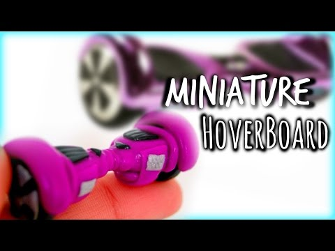 DIY Miniature HoverBoard~Polymer Clay Tutorial