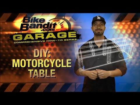 How-to DIY Motorcycle Table | BikeBandit.com