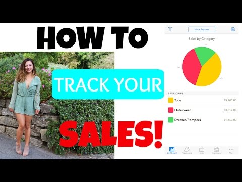 How To Keep Track of Your SALES & EXPENSES! // Small Business Owners