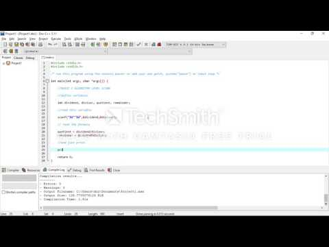 Program to find quotient and remainder in C || C Problems For Beginners