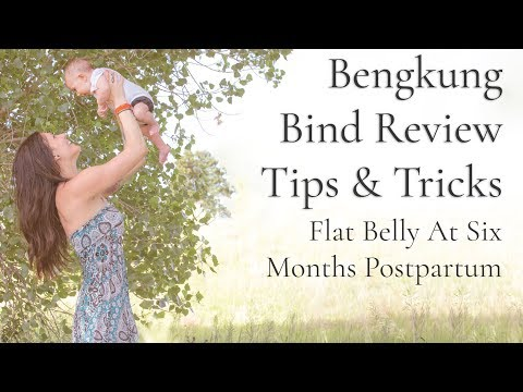 Bengkung Bind Review, Tips & Tricks - Flat Belly at 6 Months Postpartum