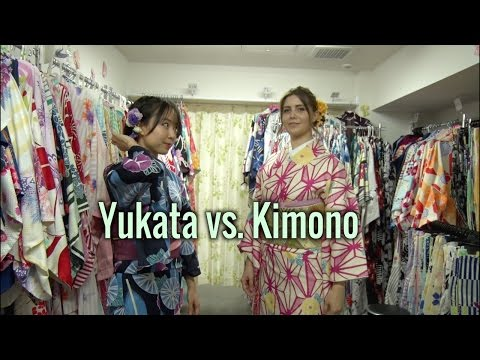 How to Differentiate Between a Yukata and a Kimono【Moving Japan】
