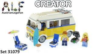 Lego Creator 31079 Sunshine Surfer Van - Lego Speed Build Review