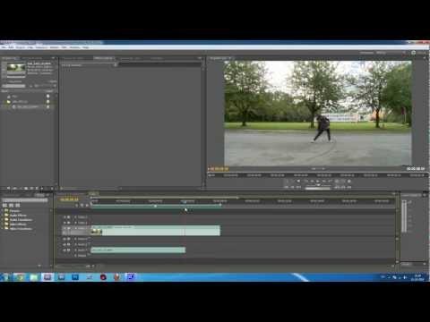 Adobe Premiere Pro CS5.5 Tutorial - cut audio