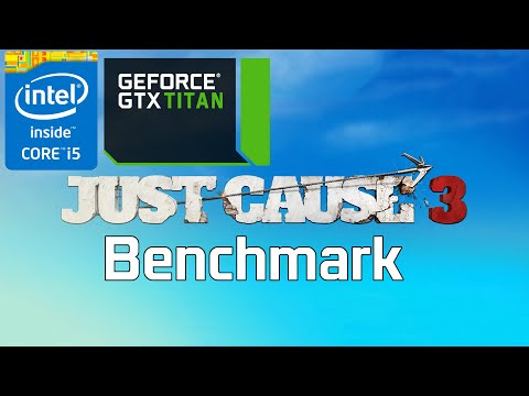 Just Cause 3 PC Ultra Benchmark [i5 4690k 4.0GHz/Titan X]