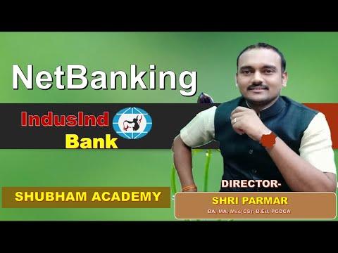 netbanking indusind bank