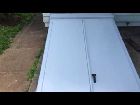 Cellar doors installed.