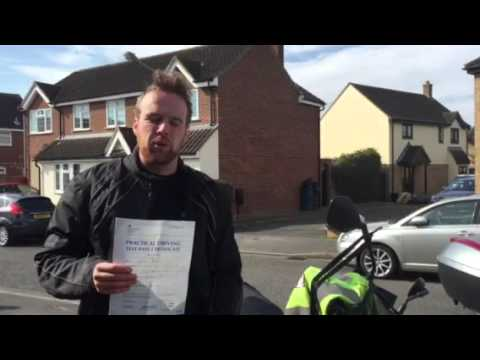 Donnall Breen... Passed Direct Access motorcycle test