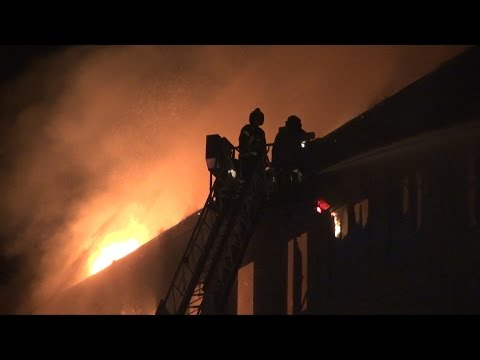 Reading, PA. 4th Alarm Factory Fire | 10.18.14