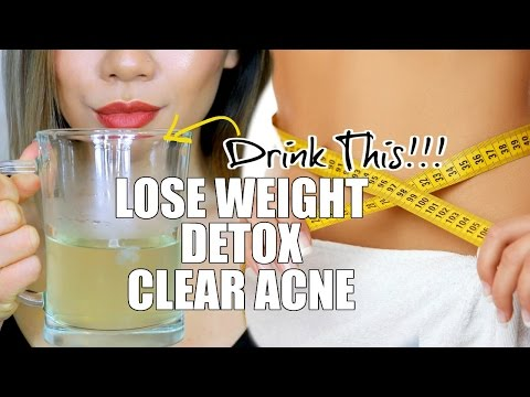 EASY DRINK FOR WEIGHT LOSS, DETOX & CLEAR ACNE   How To Apple Cider Vinegar Drink