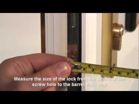 How to Replace a uPVC door Lock with anti-snap and anti-bump resistance!