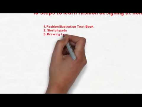 How  To  Learn  Fashion  Designing  At  Home-How to become a successful fashion designer