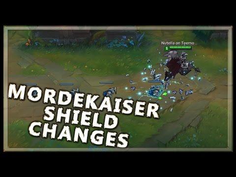 Mordekaiser Shield Changes on PBE - League of Legends