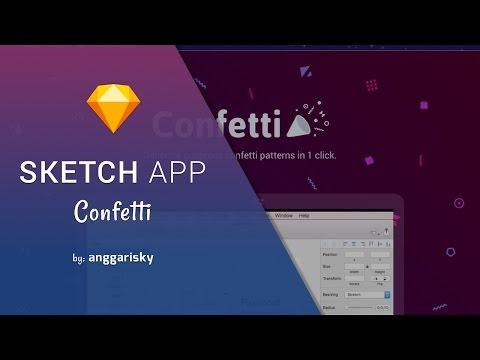 Sketch App Plugin Sketch Confetti to Make Gorgeous Pattern