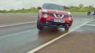 World Blind J-Turn Record with the Nissan Juke
