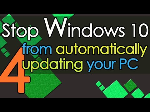 Stop Windows 10 from automatically updating your PC method 4