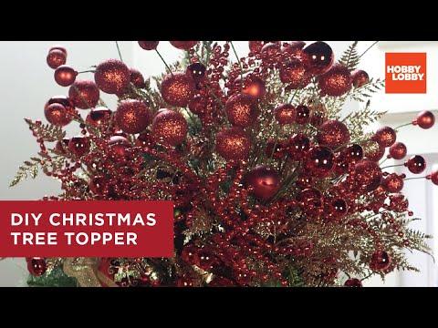 Christmas Tree Topper DIY