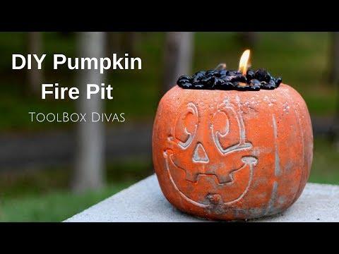 Diy Pumpkin Halloween Fire Pit | Halloween Event