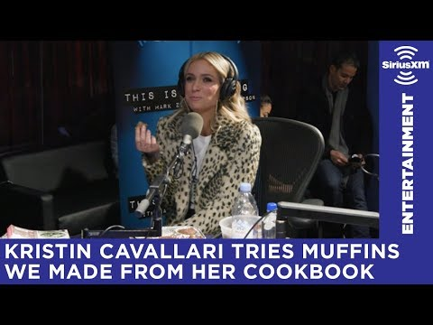 Kristin Cavallari judges muffins made from her own cookbook recipe