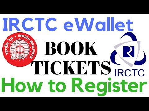 IRCTC eWallet   How to Use IRCTC eWallet For Booking Tickets   How to Register