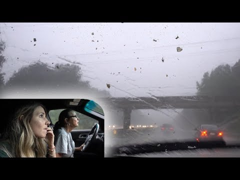 Driving Through Tornado Weather 😬