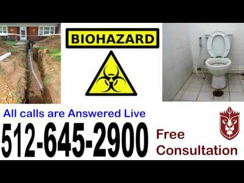 Sewer Line Cleanout & Backup Bee Cave 512-645-2900 Toilet & Drain Clog Odor black water smelly