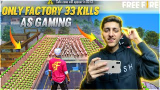 World Best factory Challenge Ever In Free Fire *Must Watch*- Garena Free Fire