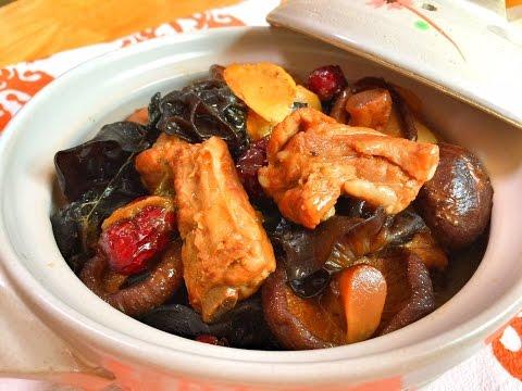 The BEST Braised Pork Ribs & MushroomsRecipe 排骨燉蘑菇 CiCi Li