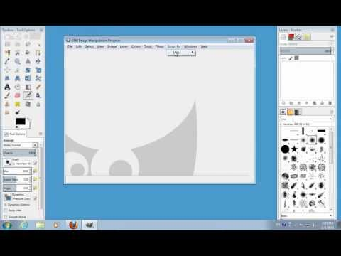 How to Save SVG Files in GIMP