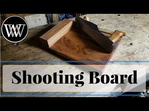 How to Make a Shooting Board With All Hand Tool Woodworking Build