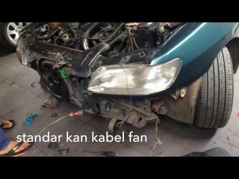 Cara perbaikan Kabel motor fan peugeot 306