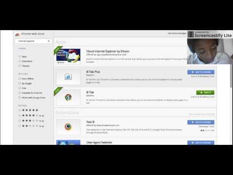 How to load internet explorer on chromebook (TUTORIAL).webm