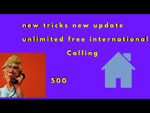How to free international call unlimited,
