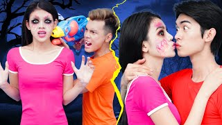 My Girlfriend Is A Zombie | Relatable Couple Relationship Situations | Funny Zombie Ideas By T-FUN